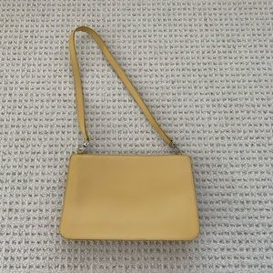 Furla shoulder bag in pastel yellow